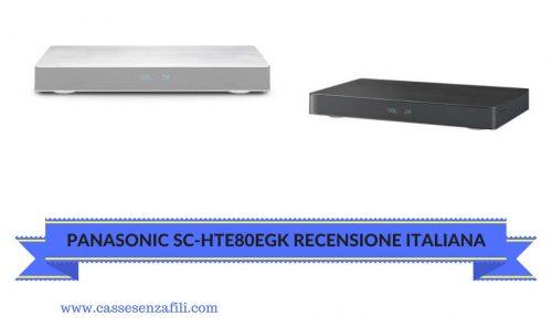 PANASONIC SC-HTE80EGK RECENSIONE ITALIANA
