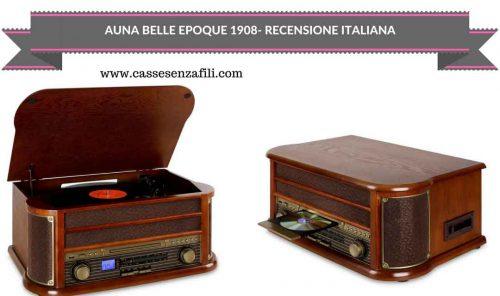 AUNA BELLE EPOQUE 1908-RECENSIONE-ITALIANA