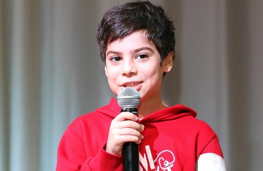Microfono karaoke bambino