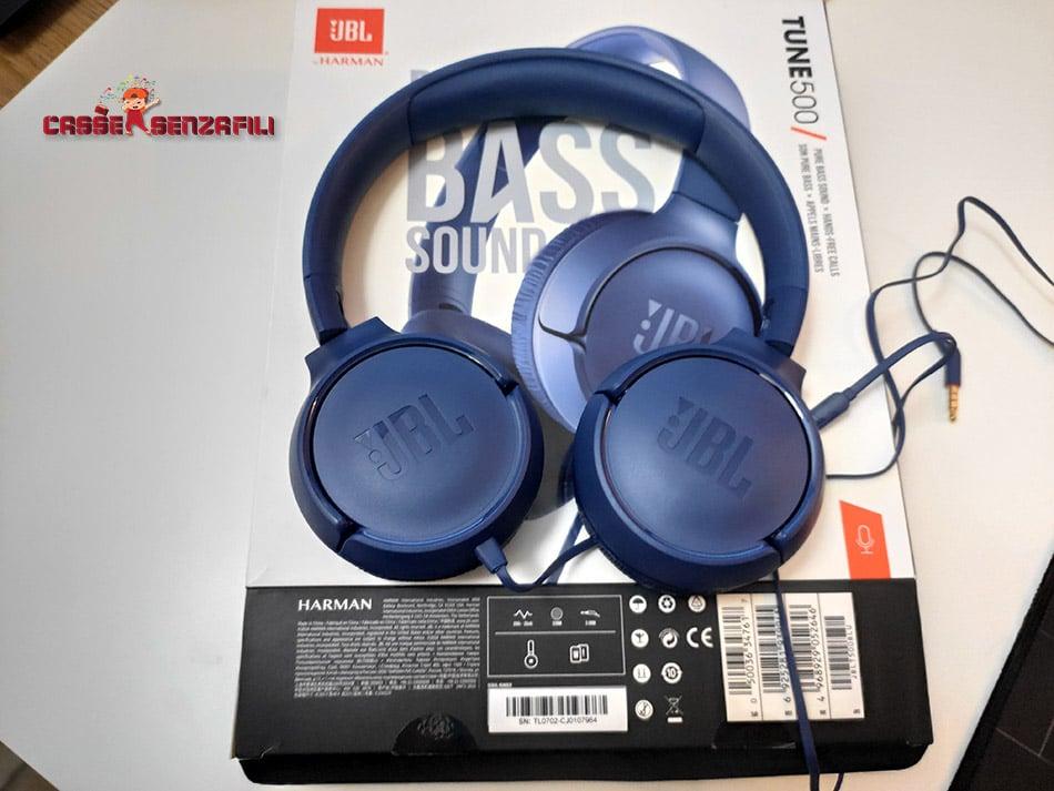 JBL Tune 500 Unboxing