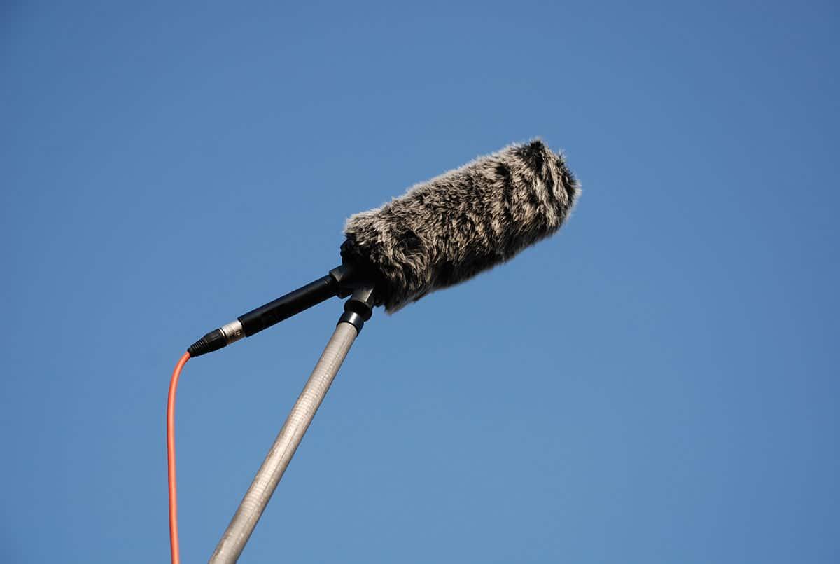 microfono fotocamera riprese ambientali