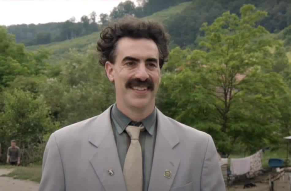 3) Borat 2020