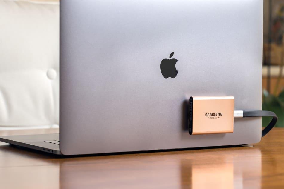 SSS esterno Samsung MacBook Pro