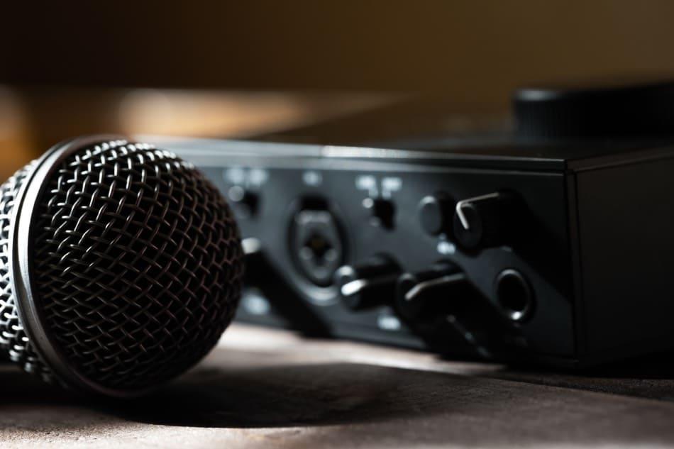 registrare audio in casa