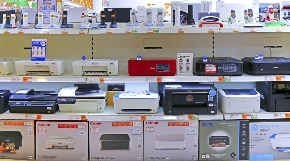 Stampanti laser e getto di inchiostro